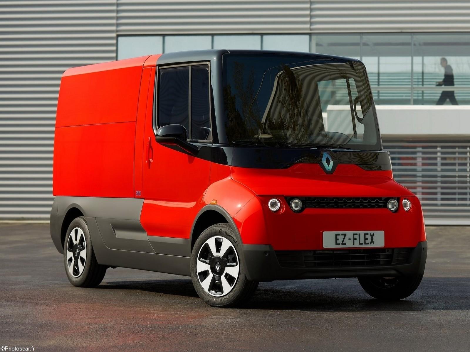 Renault EZ Flex Concept 2019  – Petit utilitaire 100% électrique.
