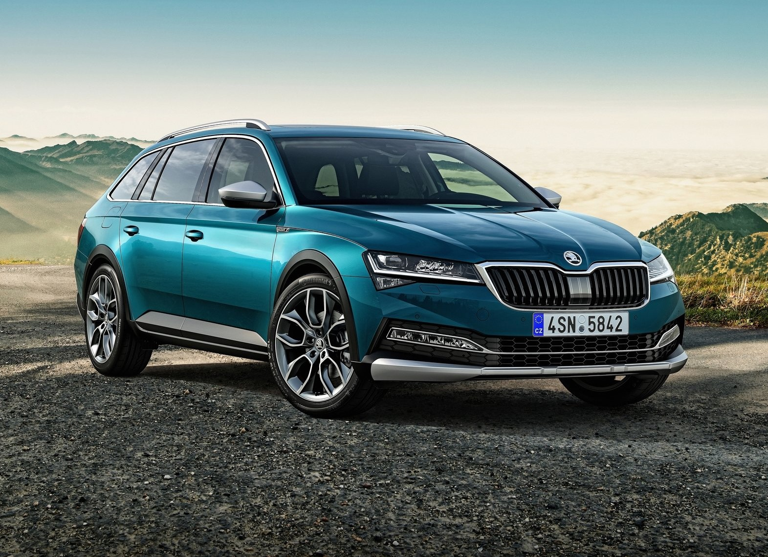 Skoda Superb Scout 2020: la version la plus décontractée du Superb.