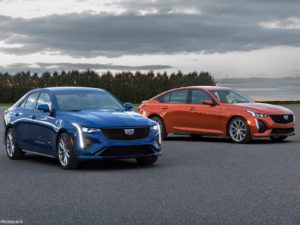 Cadillac CT4-V et CT5-V 2020