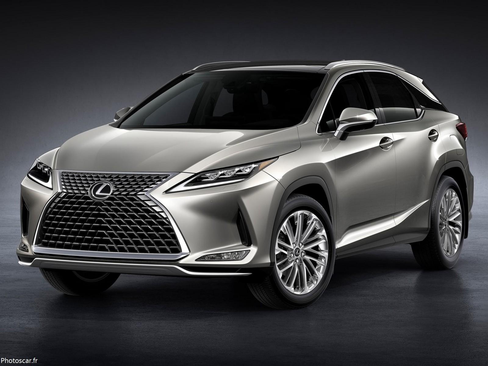 Lexus RX 2020 avec un style rafraîchi et une technologie actualisée.