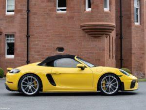 Porsche 718 Spyder 2020