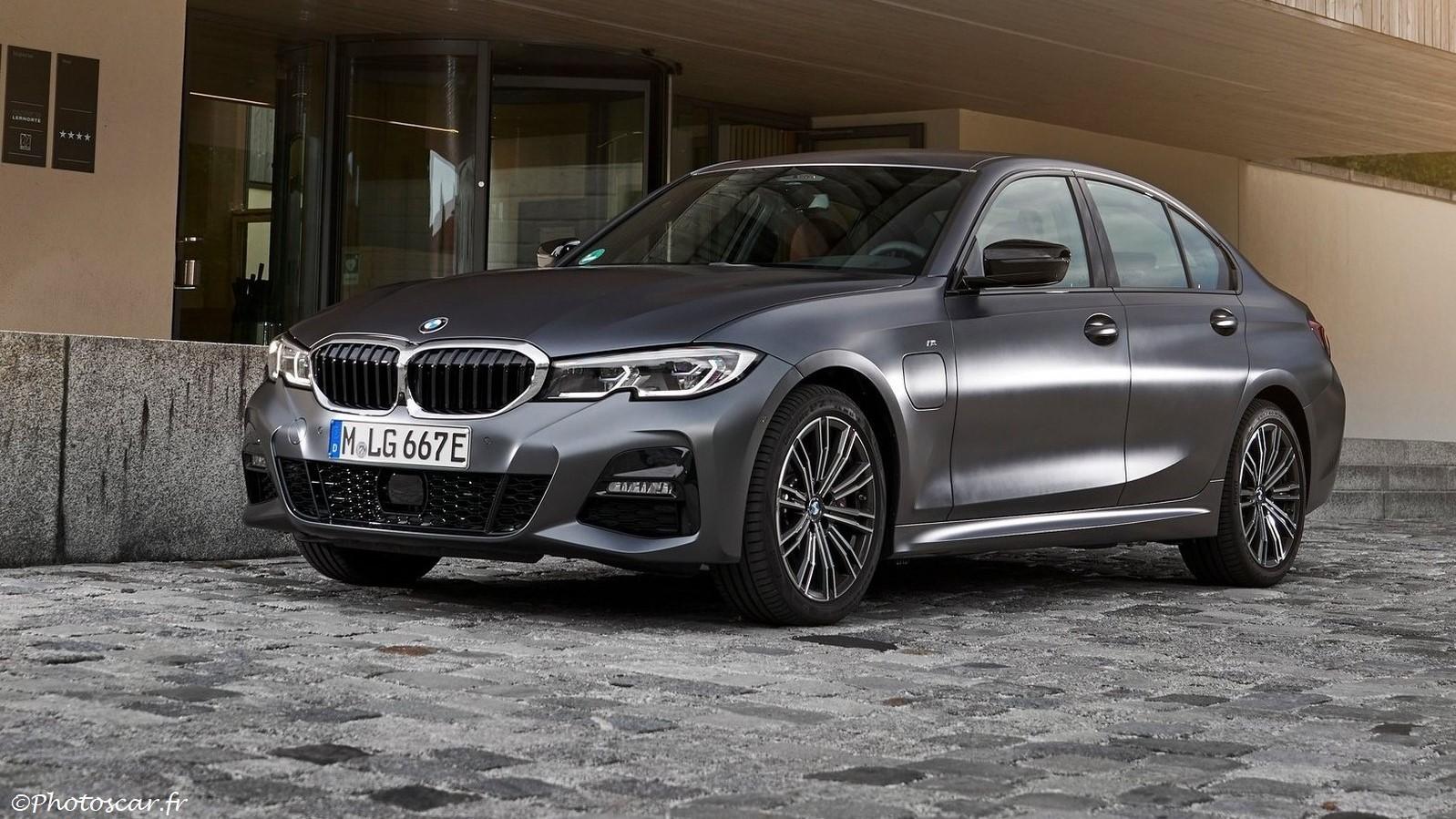 BMW 330e Sedan 2019 plus performante, plus endurante et plus évoluée
