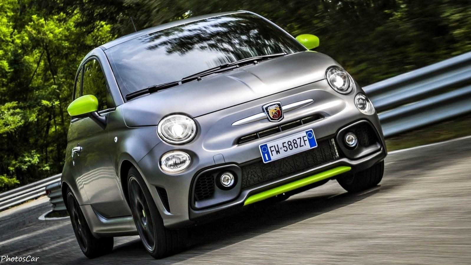 Fiat 595 Abarth Pista 2020 – Encore plus puissant avec 165 ch