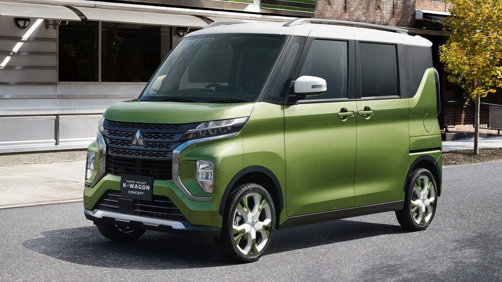 Mitsubishi Super Height K-Wagon Concept 2019