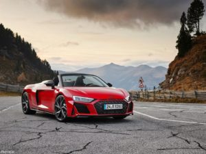 Audi R8 V10 RWD Spyder 2020