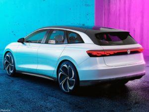 Volkswagen ID Space Vizzion Concept 2019