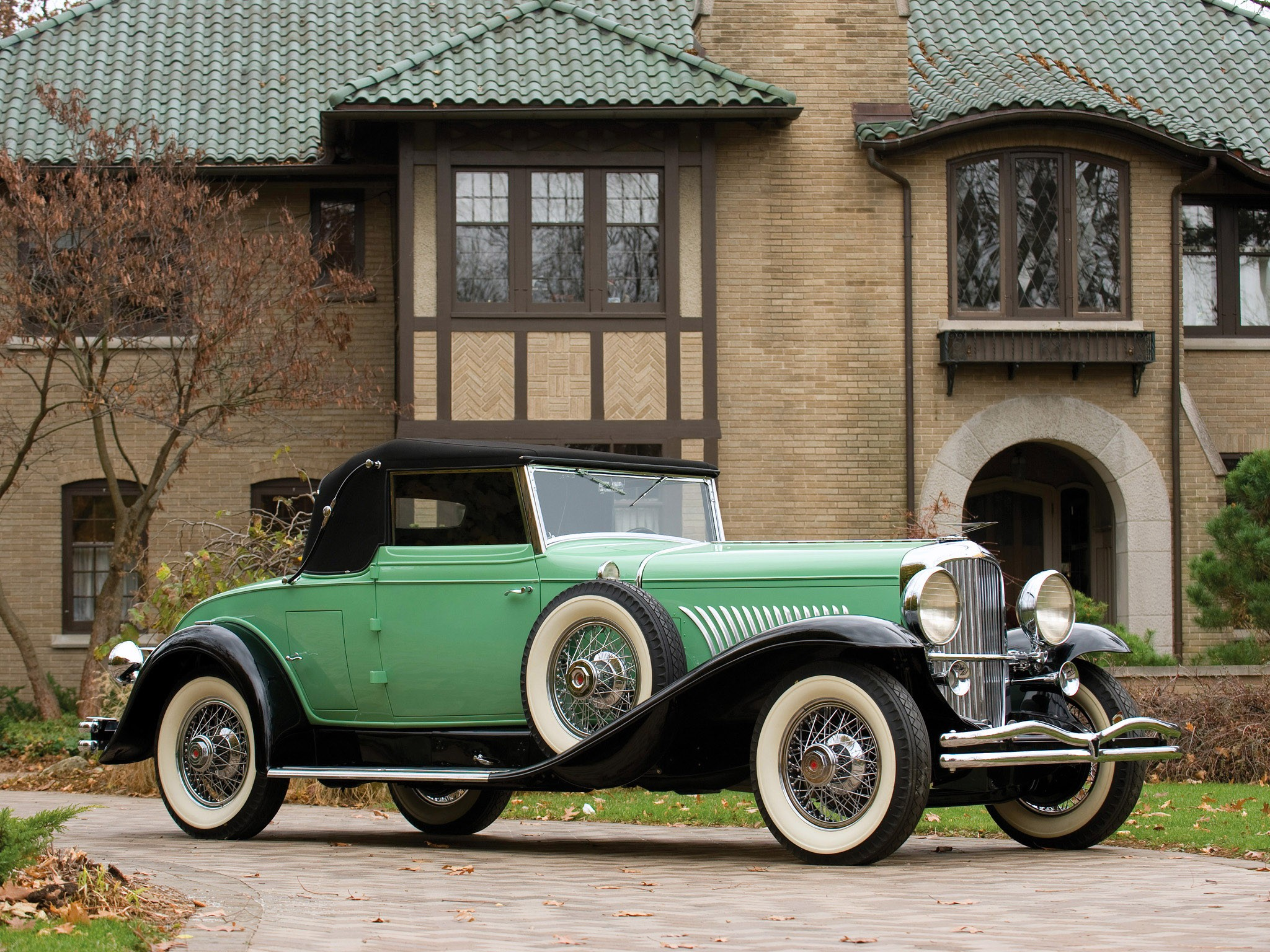 Duesenberg J 417 Convertible Coupe by Fleetwood 1929