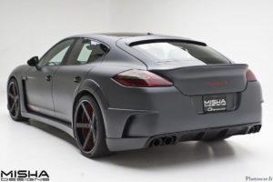 Porsche Panamera Wide Body Kit Misha Designs