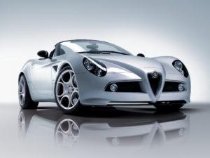 Alfa Romeo 8C Spider 2008