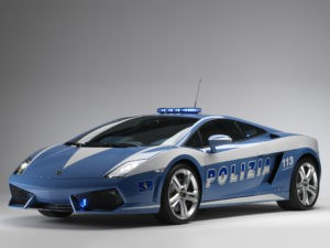 Lamborghini Gallardo LP560-4 Polizia 2008
