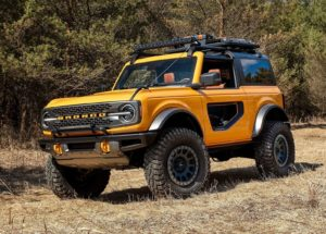 Ford Bronco 2 door 2021