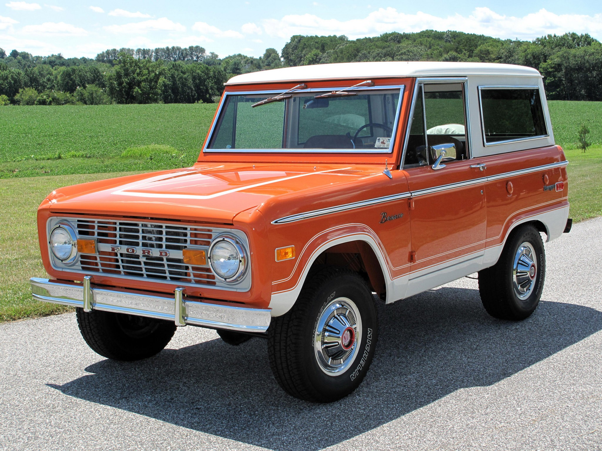 Ford Bronco Wagon 1974