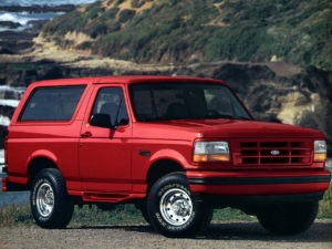 Ford Bronco XLT Sport 1996