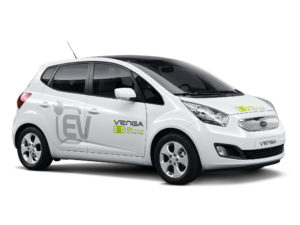 Kia Venga Plug-In Electric Concept 2010