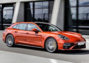 Porsche Panamera Turbo S Sport Turismo 2021
