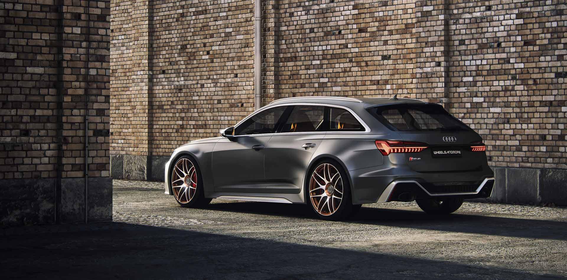 Audi RS6 C8 @Tentension Wheelsandmore 2020