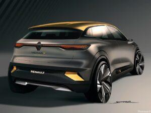 Renault Megane eVision Concept 2020