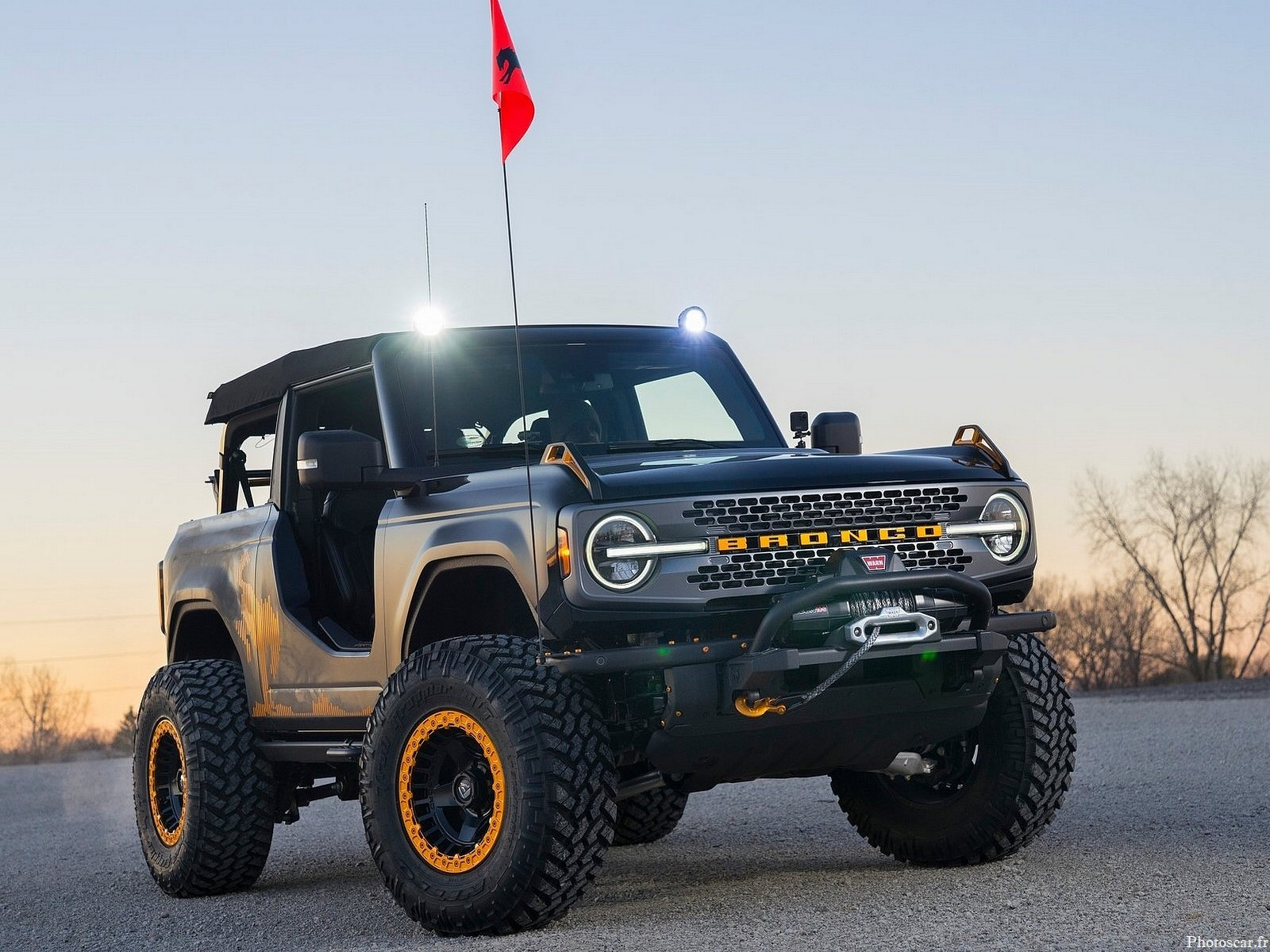 Ford Bronco Badlands Sasquatch 2 portes Concept 2020