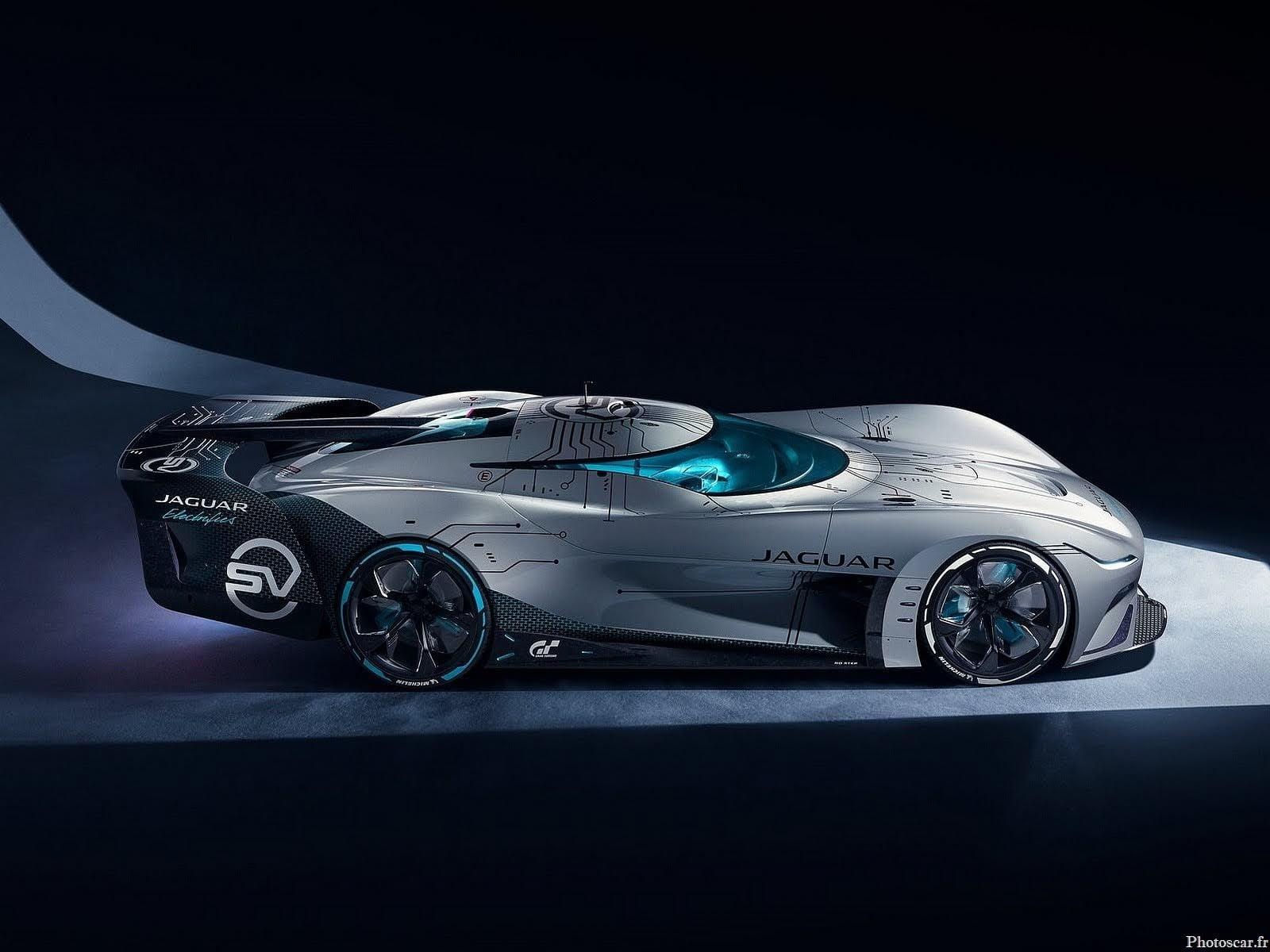 Jaguar Vision Gran Turismo SV Concept 2020