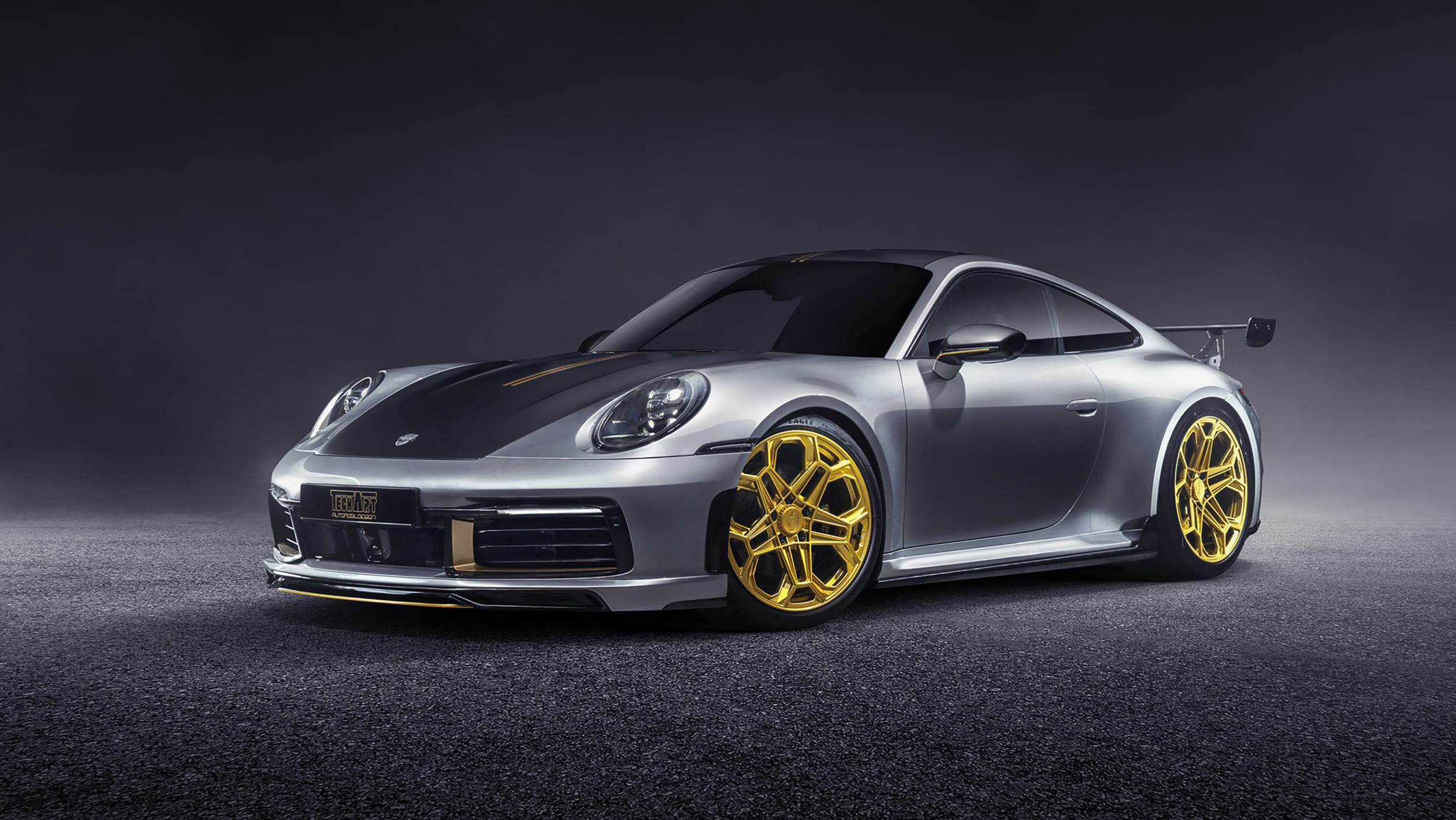Porsche 992 Carrera 4S TechArt 2021