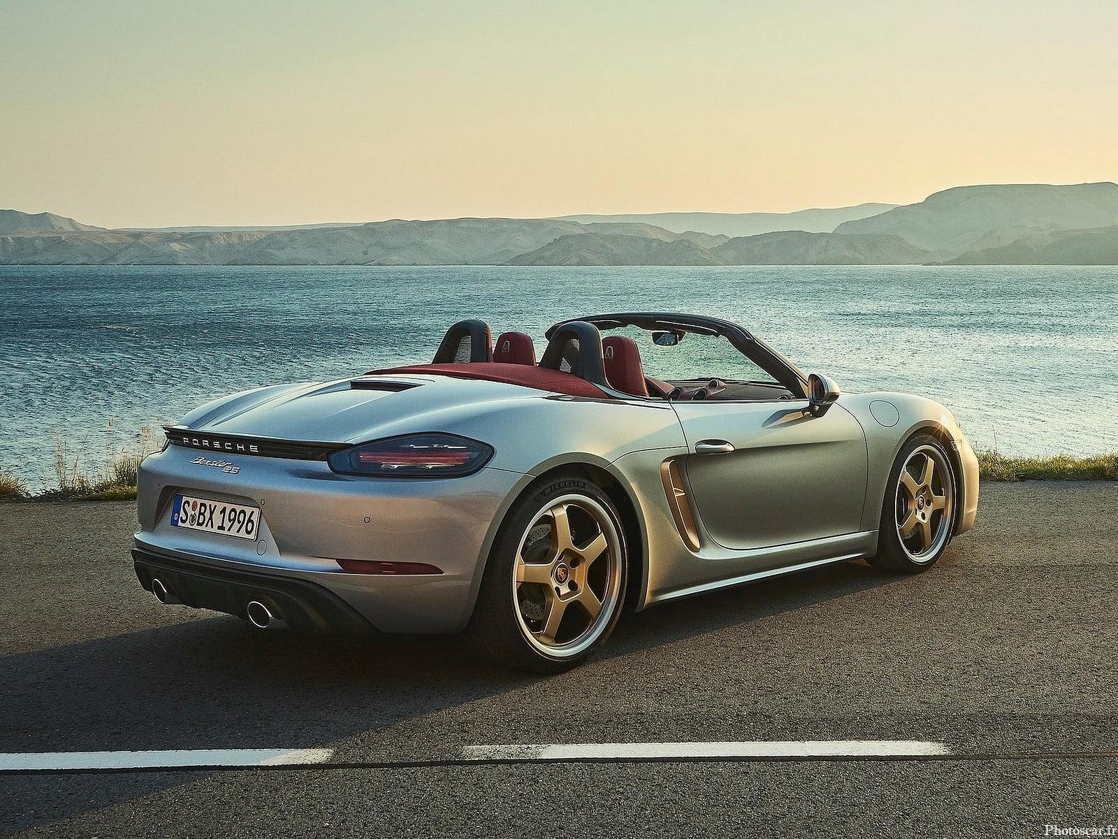 Porsche Boxster 25 ans 2021