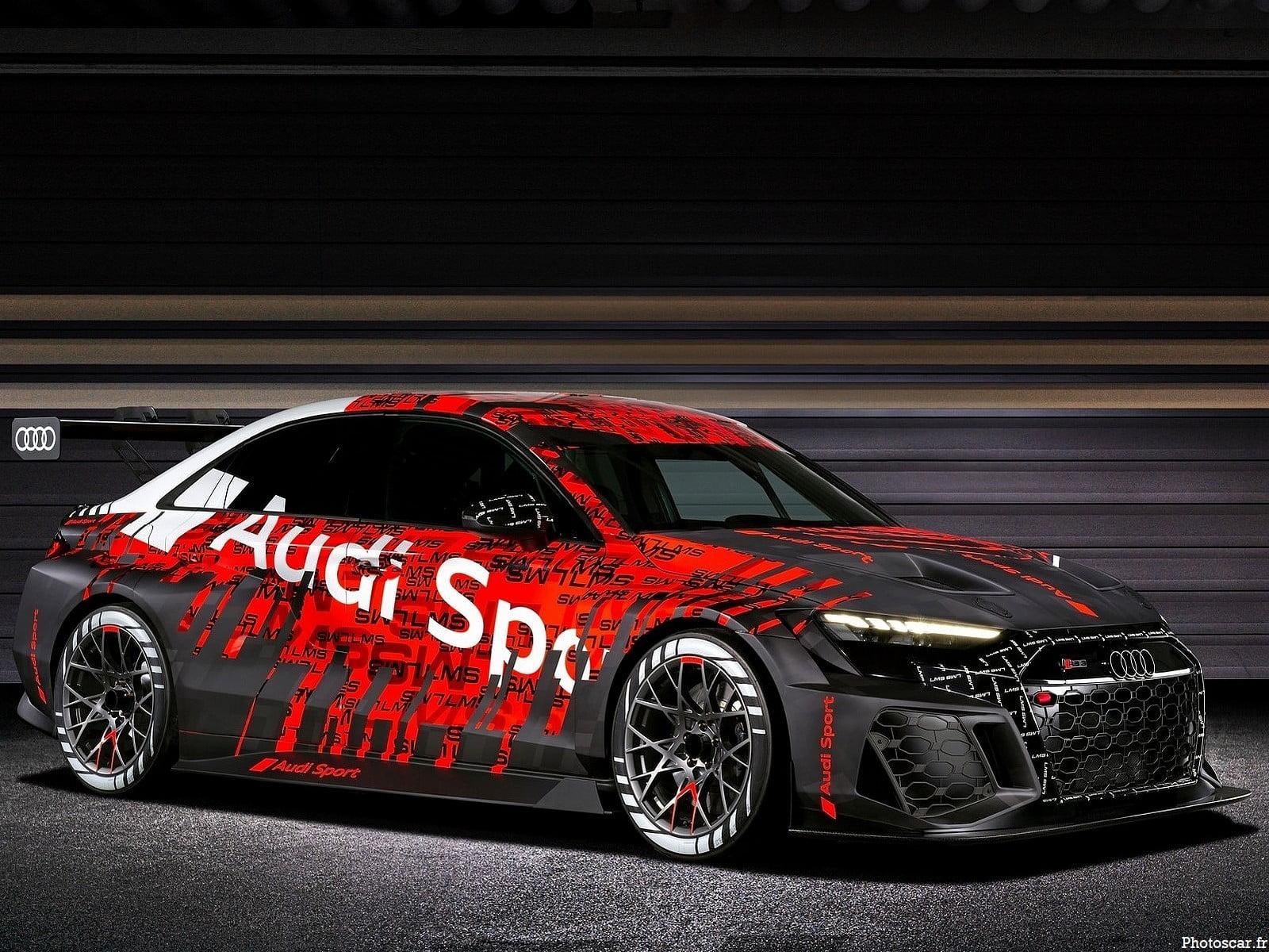 Audi RS3 LMS Racecar 2021 – Elle fait ses débuts en tant que voiture de course d'entrée de gamme