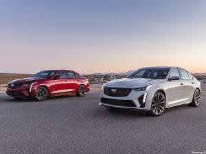 Cadillac CT4-V & CT5-V Blackwing 2022