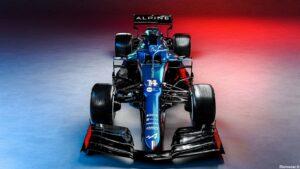 Alpine F1 A521 2021