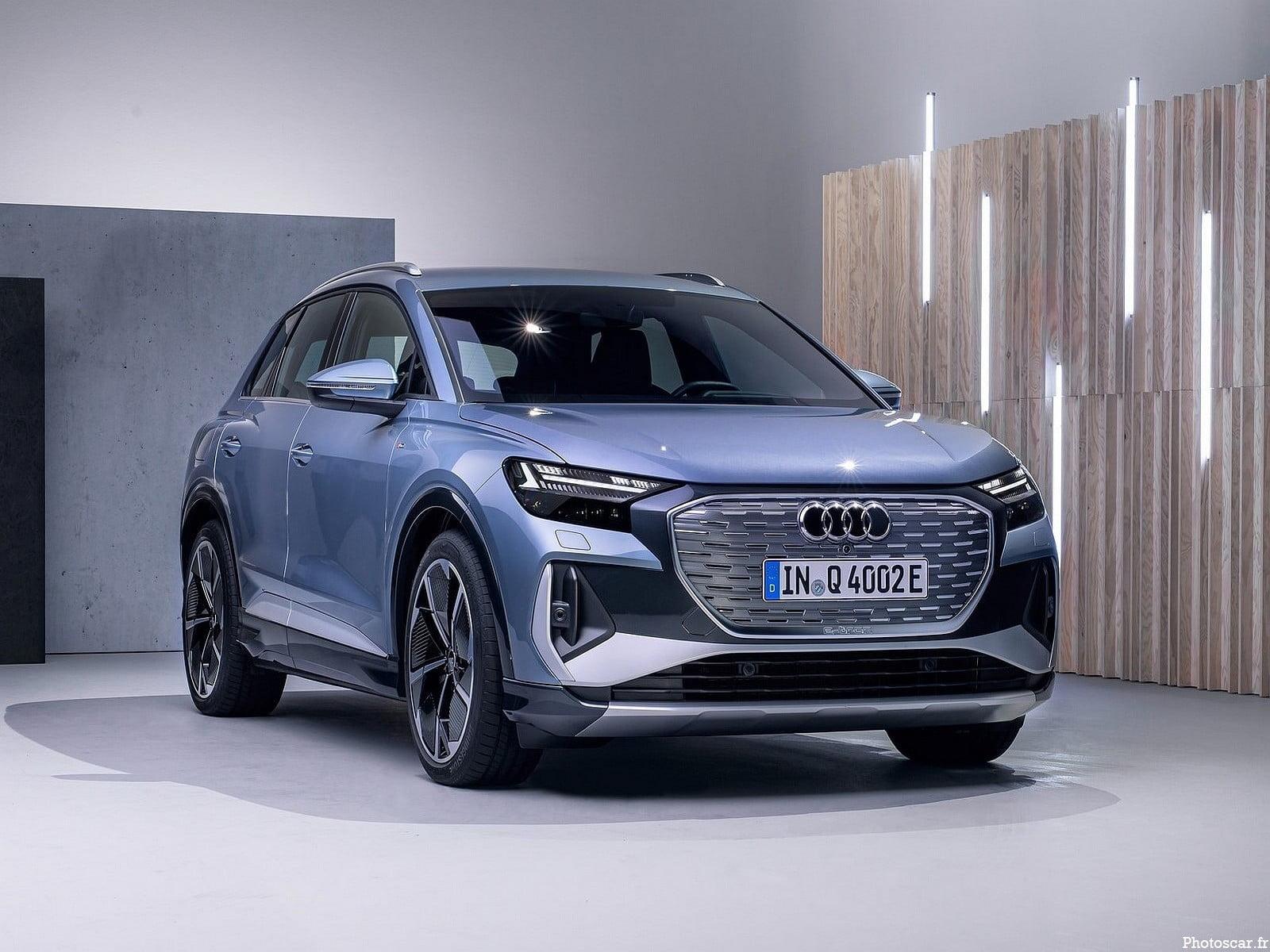 Audi Q4 e-tron 2022 – Le plus petit membre de la famille tout électrique