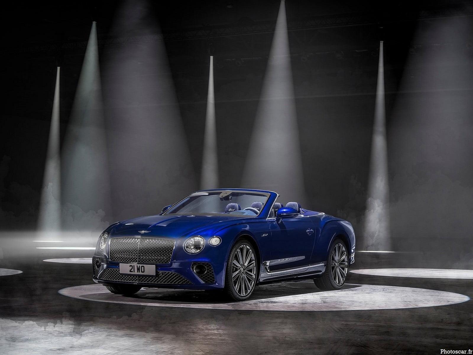 Bentley Continental GT Speed Convertible 2022