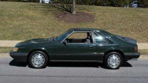 Ford Mustang SVO Hertz 1985
