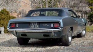 Plymouth Hemi Cuda Convertible 1971