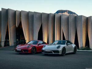 Porsche 911 Targa 4 et Carrera GTS 2022
