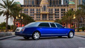 Bentley Mulsanne Grand Limousine Mulliner 2022