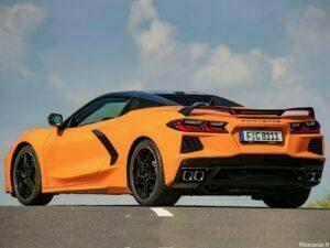 Chevrolet Corvette Stingray Convertible Version EU 2021